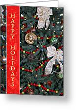 Old Fashioned Christmas Greeting Card by Carolyn Marshall