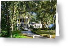 In Old Florida Greeting Card