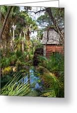 Old Florida Watermill I Greeting Card