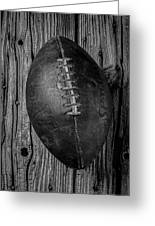 Old Football Greeting Card