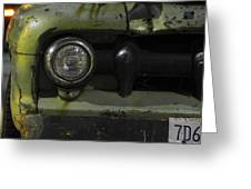 Old Ford Pickup Truck Greeting Card