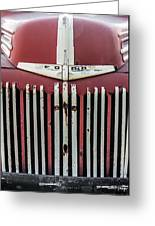 Old Ford Truck Greeting Card