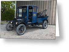 Old Ford Wrecker  Greeting Card