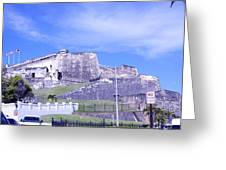 Old Fort Greeting Card