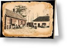 Old Fort Langley 1 Greeting Card