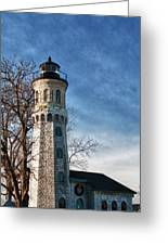 Old Fort Niagara Lighthouse 4478 Greeting Card