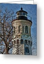 Old Fort Niagara Lighthouse 4484 Greeting Card