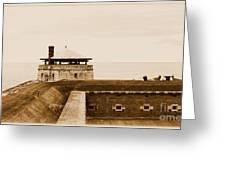 Old Fort Niagara North Redoubt Greeting Card