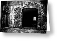 Old Fort Passway Greeting Card