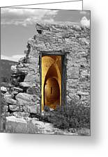 Old Fort Through The Magic Door Greeting Card