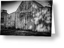 Old Fort Wayne Blacksmith Shop Greeting Card