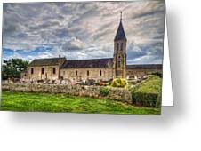 Old French Church Greeting Card