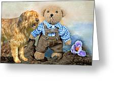 Old Friends On Tour Greeting Card