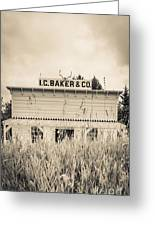 Old General Store Greeting Card