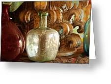Old Glassware Greeting Card