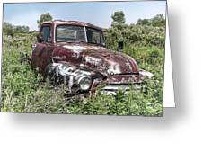 Old Gmc Truck Greeting Card