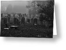 Old Graveyard Greeting Card