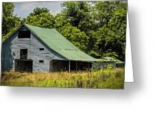Old Gray Barn Greeting Card