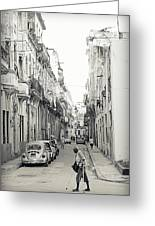 Old Habana Greeting Card