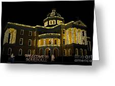 Old Harrison County Courthouse Greeting Card