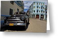 Old Havana Greeting Card