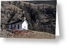 Old Headly Church Greeting Card