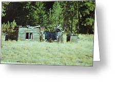 Old Homestead, Needs Work Greeting Card