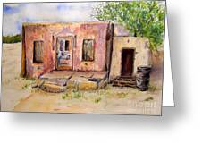 Old House In Clovis Nm Greeting Card