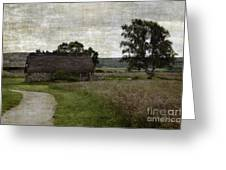 Old House In Culloden Battlefield Greeting Card