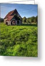 Old House In Summer  Greeting Card