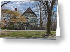 Old House On Haverford Campus Greeting Card