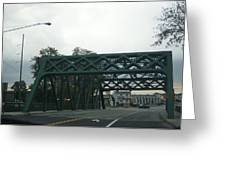Old Iron Bridge Greeting Card