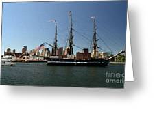 Old Iron Sides  Greeting Card
