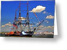 Old Ironsides 1012 Greeting Card