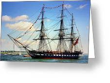 Old Ironsides 1014 Greeting Card