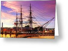 Old Ironsides 1015 Greeting Card