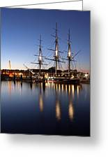 Old Ironsides Greeting Card by Juergen Roth
