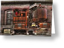 Old Kansas City Factory Building  Greeting Card