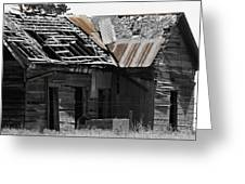 Old Kansas Homestead Greeting Card