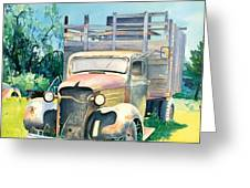 Old Kula Truck Greeting Card