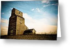Old Lepine Elevator Greeting Card by Gerald Murray Photography