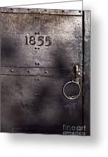 Old Lighthouse Door Greeting Card by Eyzen Medina