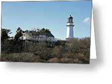 Old Lighthouse Greeting Card
