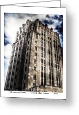 Old Macomb Tower Greeting Card