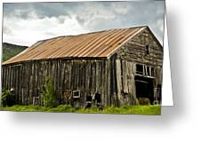 Old Maine Barn Greeting Card