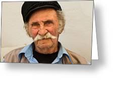 Old Man Of Mykonos Greeting Card