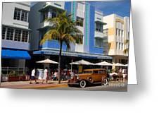 Old Miami Greeting Card
