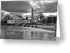 Old Mill And Banquet Hall Greeting Card