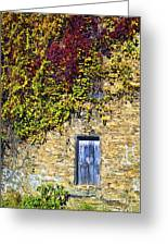 Old Mill Door Greeting Card