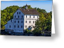 Old Mill In Caledonia Ontario Greeting Card